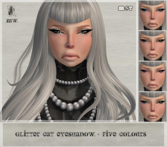 MiWardrobe - Glitter Cat - Eyeshadow - P