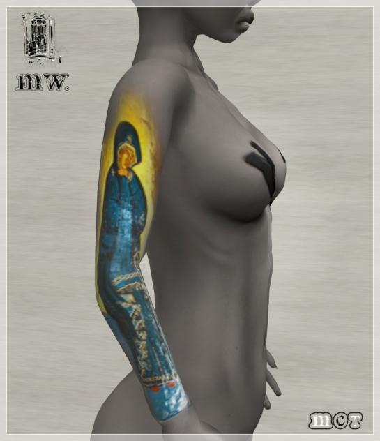 MiWardrobe - Santa Maria - Tattoo - P