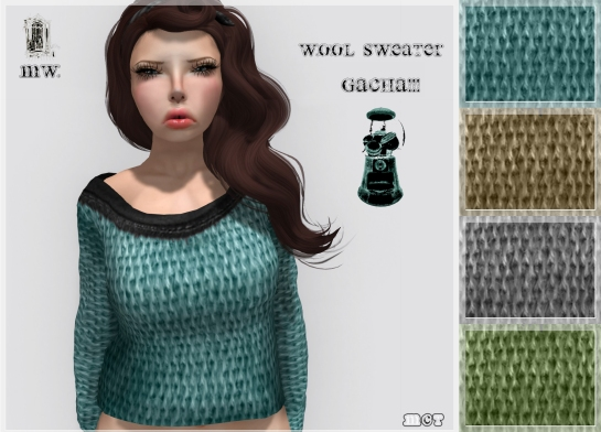 MiWardrobe - Wool Sweater - Gatcha!! - P