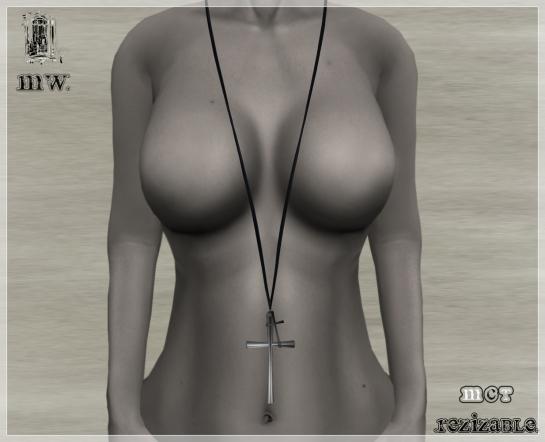 MiWardrobe - Xto Necklace - Silver - P