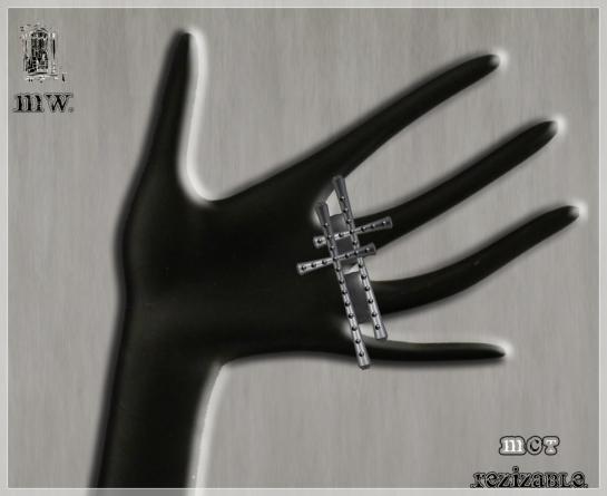 MiWardrobe - Xto Ring - Silver - P