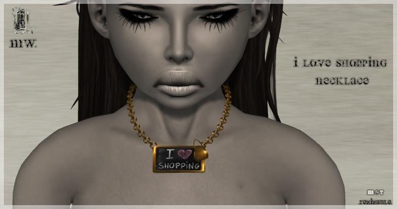 MiWardrobe - I -3 Shopping - Necklace - P