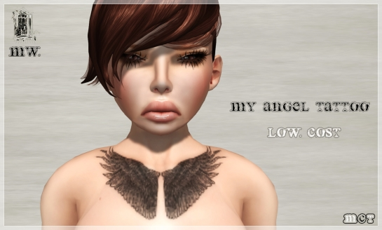 MiWardrobe - My Angel Tattoo - Low Cost - P