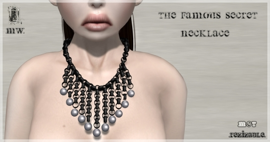 MiWardrobe - The Famous Secret - Necklace - P2