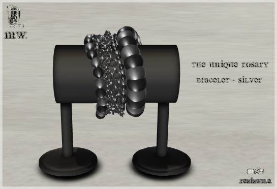 MiWardrobe - The Unique Rosary - Bracelet - Silver - P