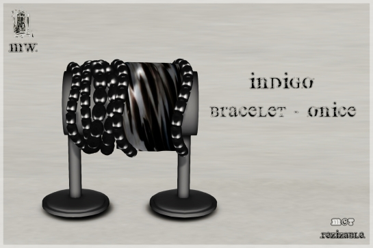 MiWardrobe - Indigo - Bracelet - Onice - P