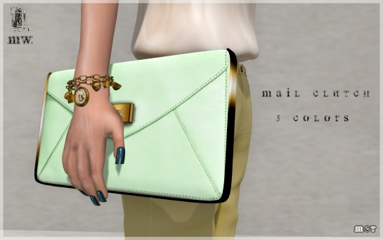 MiWardrobe - Mail Clutch - Main - P