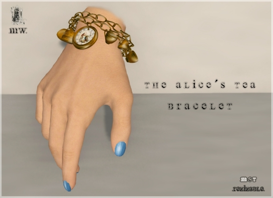 MiWardrobe - The Alice´s Tea - Bracelet - P