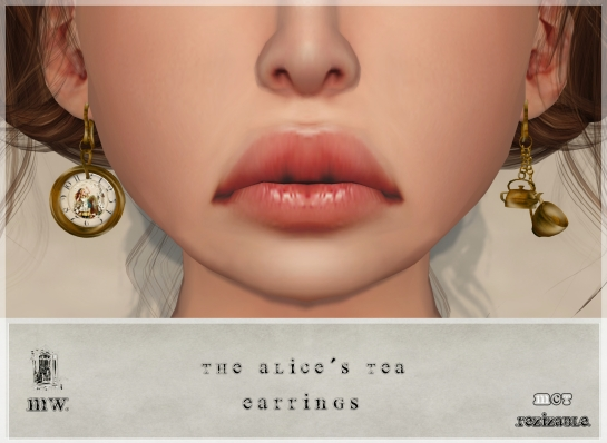 MiWardrobe - The Alice´s Tea - Earrings - P