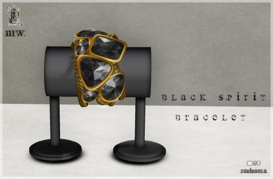 MiWardrobe - Black Spirit - Bracelet - P
