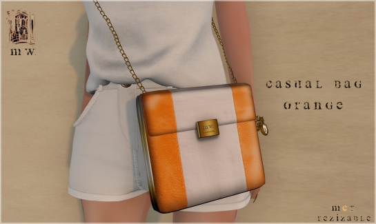 MiWardrobe - Casual Bag - Orange - MW - P