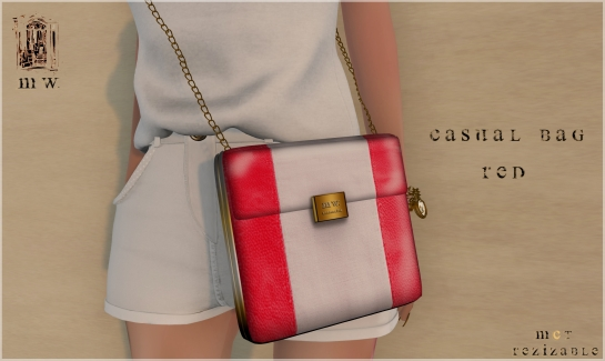 MiWardrobe - Casual Bag - Red - MW - P