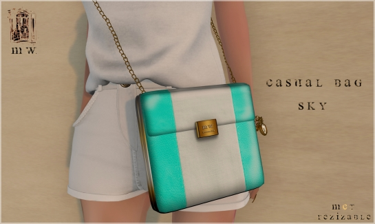 MiWardrobe - Casual Bag - Sky - MW - P