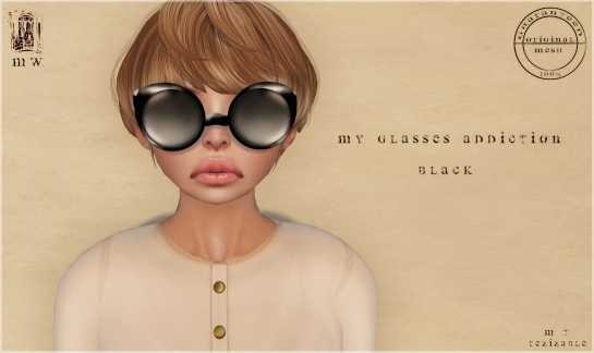 MiWardrobe - My glasses addiction - Black - P