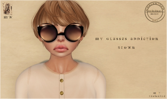 MiWardrobe - My glasses addiction - Brown - P