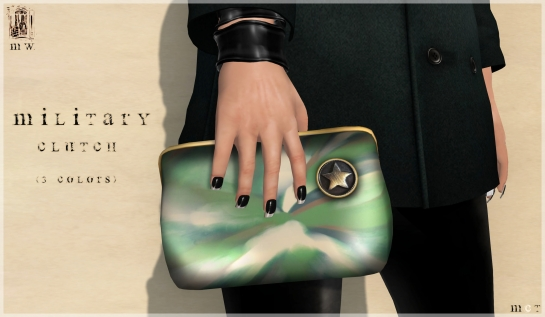 MiWardrobe - Military Clutch - Main - P