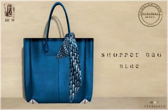 MiWardrobe - Shopper Bag - Blue - P