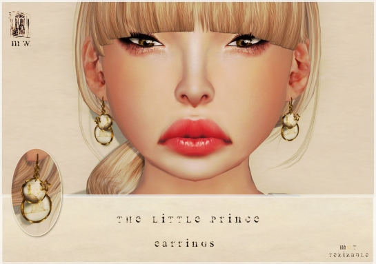 MiWardrobe - The Litlle Prince - Earrings - P