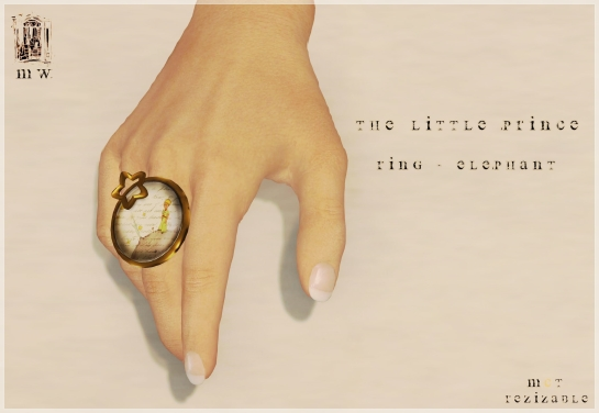 MiWardrobe - The Litlle Prince - Ring - P