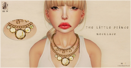 MiWardrobe - The Little Prince - Necklace - P