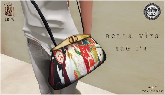 MiWardrobe - Bella Vita - Bag 1-4 - P