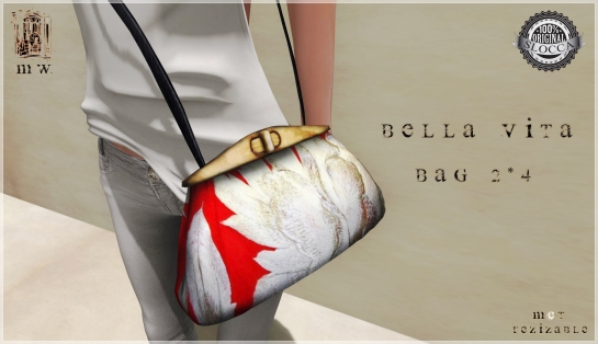 MiWardrobe - Bella Vita - Bag 2-4 - P