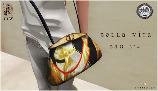 MiWardrobe - Bella Vita - Bag 3-4 - P