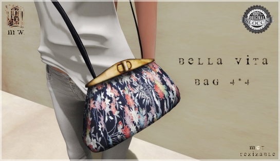 MiWardrobe - Bella Vita - Bag 4-4 - P