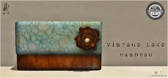 MiWardrobe - Vintage Lace Bag - MW - P