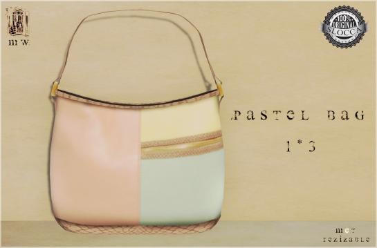 MiWardrobe - Pastel Bag - 1-3 - MW - P