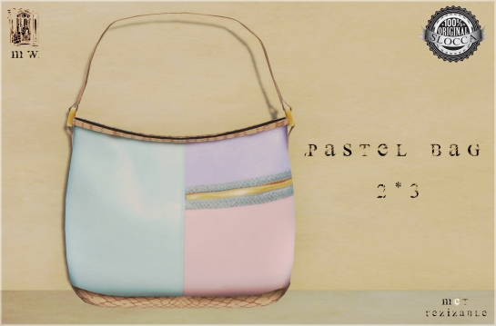 MiWardrobe - Pastel Bag - 2-3 - MW - P