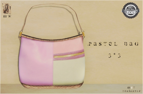 MiWardrobe - Pastel Bag - 3-3 - MW - P