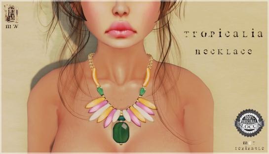 MiWardrobe - Tropicalia - Necklace - MW - P