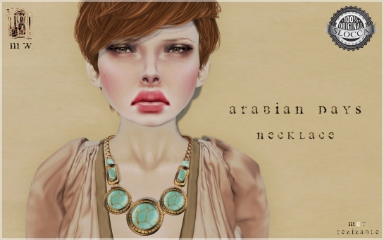 MiWardrobe - Arabina Days - Necklace - MW - P