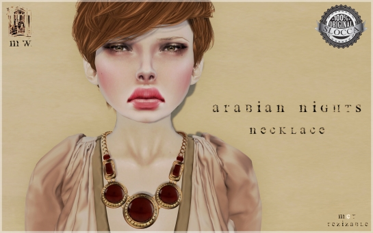 MiWardrobe - Arabina Nights - Necklace - MW - P