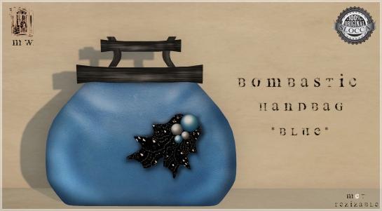 MiWardrobe - Bombastic - HandBag - Blue - MW - P