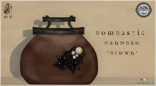 MiWardrobe - Bombastic - HandBag - Brown - MW - P