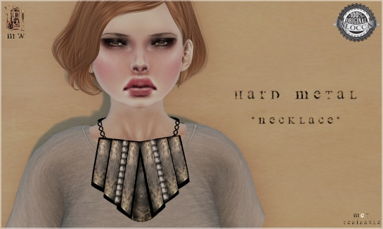 MiWardrobe - Hard Metal - Necklace - MW - P