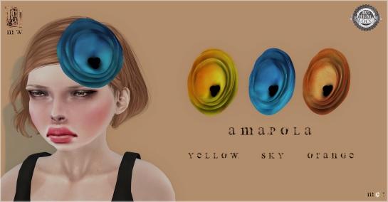 MiWardrobe - Amapola - Headpiece - Y-S-O - MW - P