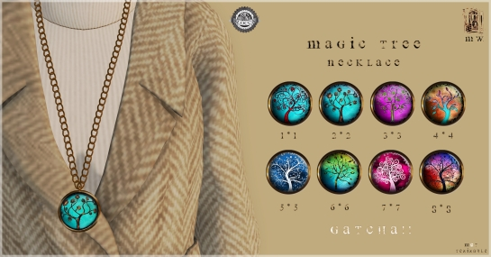 MiWardrobe - Magic Tree - Necklace - Gatcha!! - MW - P