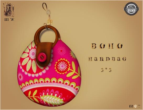 MiWardrobe - Boho - Handbag - 3-3 - MW - P
