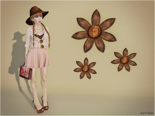 Flowers and fashion everywhere